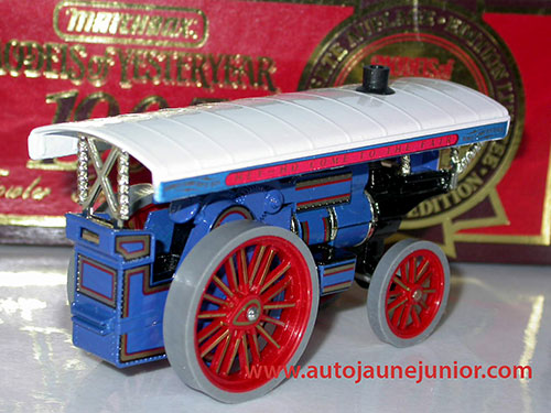 Matchbox Fowler Showmans Zngine 1905