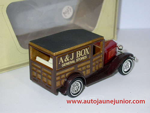 Matchbox Ford A 1930 AJ Box