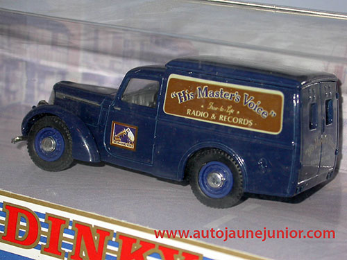Dinky Matchbox 8 CWT Van 1948 hIS MASTER vOICE