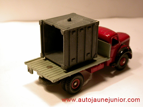 Dinky Toys France GLR plateau container