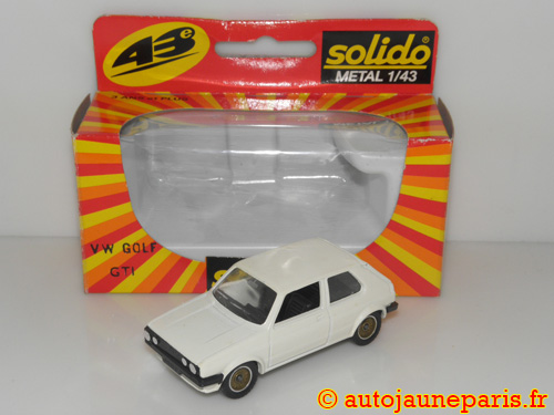Solido VW golf GTI