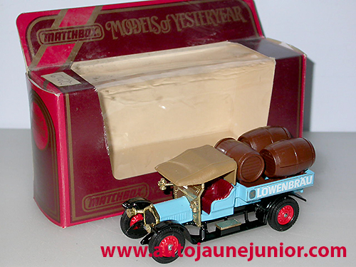 Matchbox 1918 beer lorry