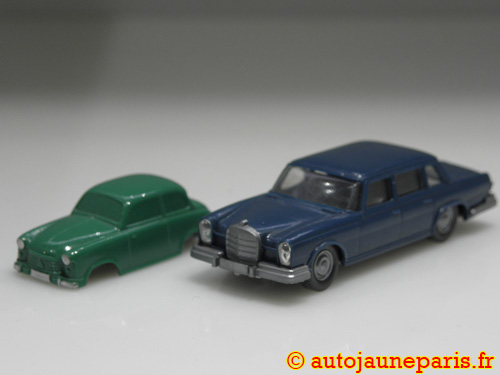 Wiking Mercedes 600 et Lloyd