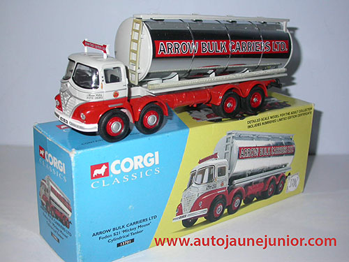 Corgi Toys S21 Arrow Bulk Carrier