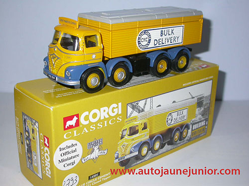 Foden S21 Blue Circle Cement