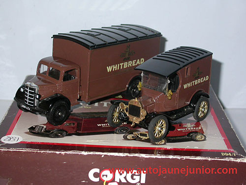 Corgi Toys Bedford et Ford Whitbread