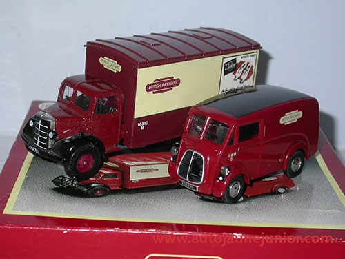 Corgi Toys Bedford et Morris British Railways