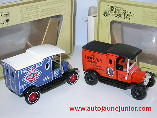 Matchbox Ford T Potato Crisp et Hoover