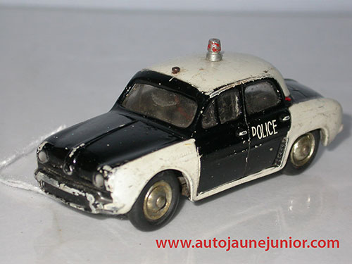 Renault Dauphine police