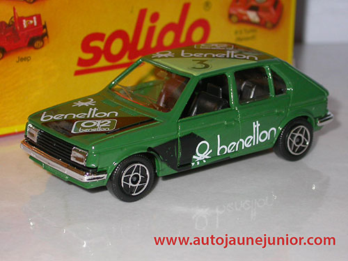 Solido Horizon benetton