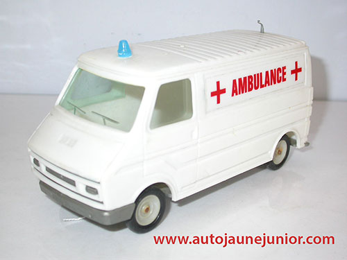 Clé C35 ambulance