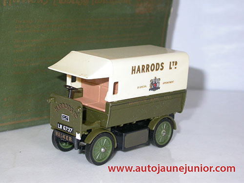 Matchbox Electric Van 1919 Harrods