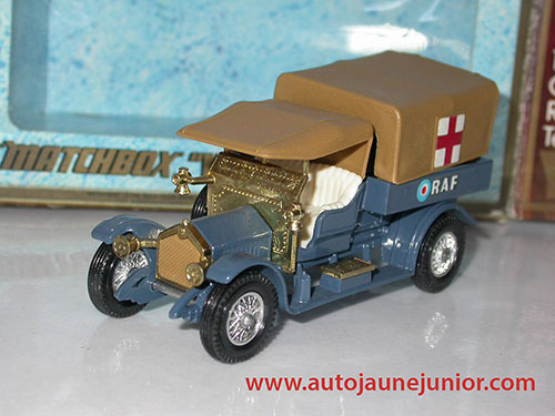 Matchbox 1918 RAF Tender