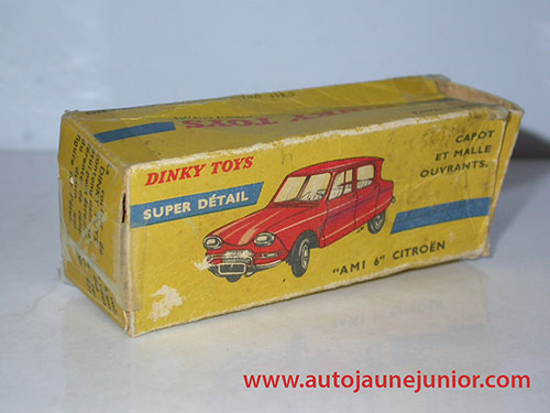 Dinky Toys France Ami 6 berline
