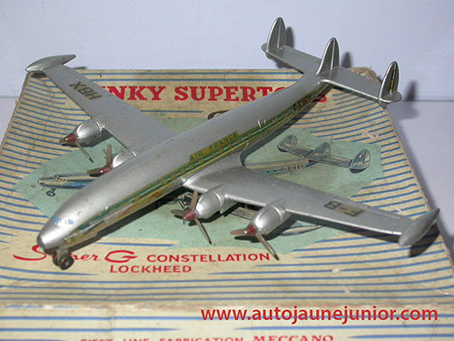 Dinky Toys France Lockeed superconstellation