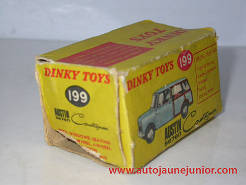 Dinky Toys GB Mini traveller