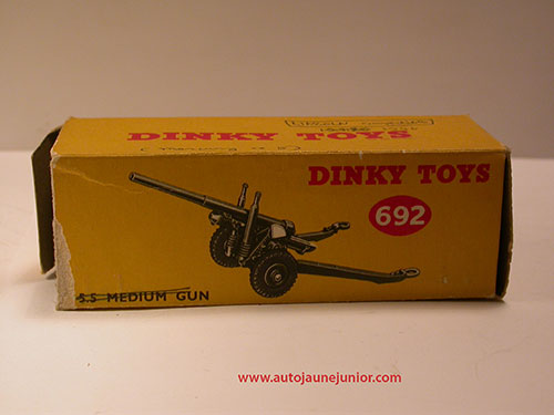 Dinky Toys GB 5,5 medium gun