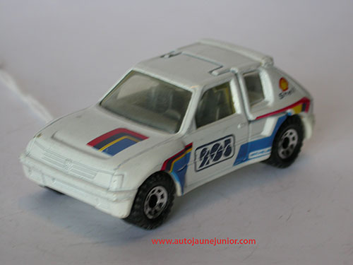 Matchbox 205 turbo 16