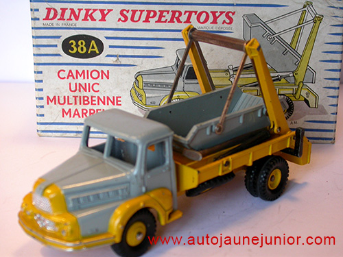 Dinky Toys France camion multibenne Marrel