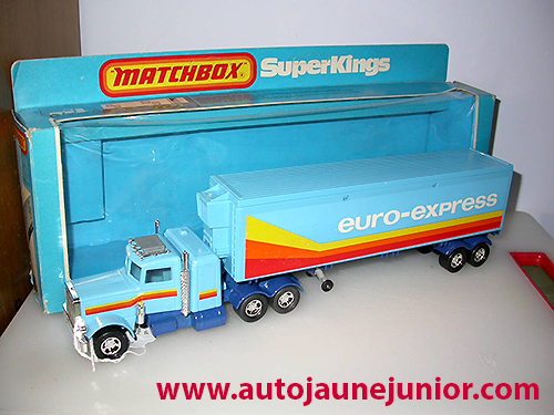 Matchbox semi euro express