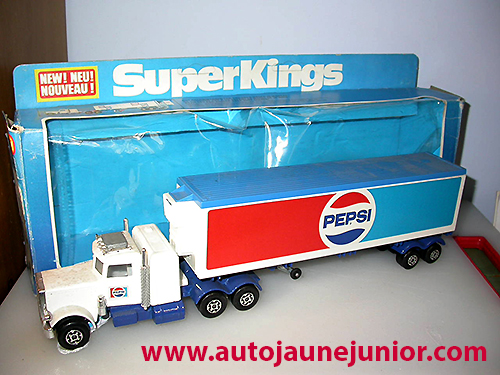 Matchbox semi Pepsi