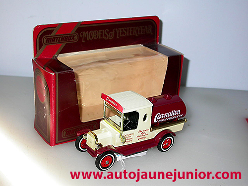 Matchbox model T tanker