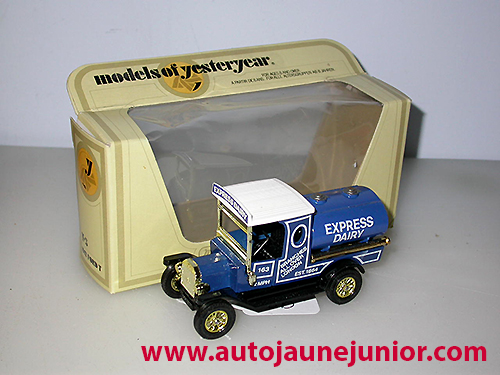 Matchbox model T express dairy