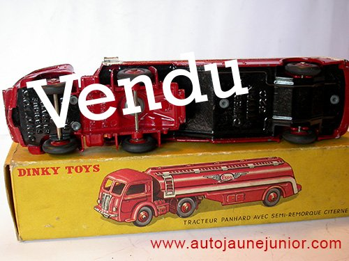 Dinky Toys France Movic tracteur semi remorque citerne