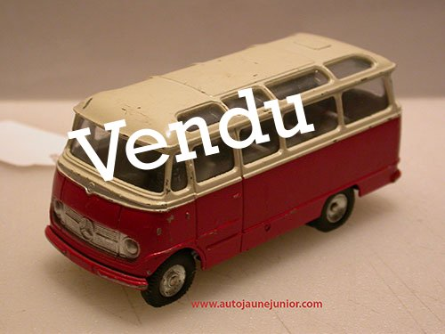 Dinky Toys France car de 18 places