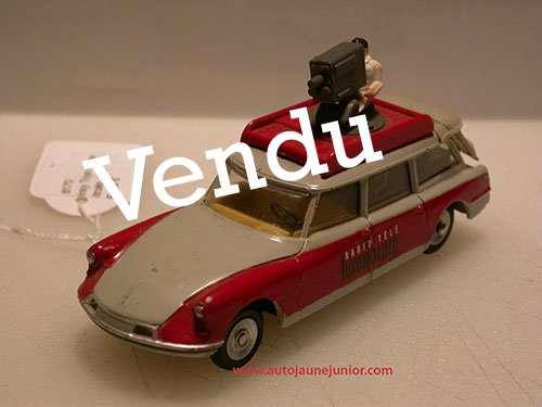 Dinky Toys France ID19 break Radio Télé Luxembourg