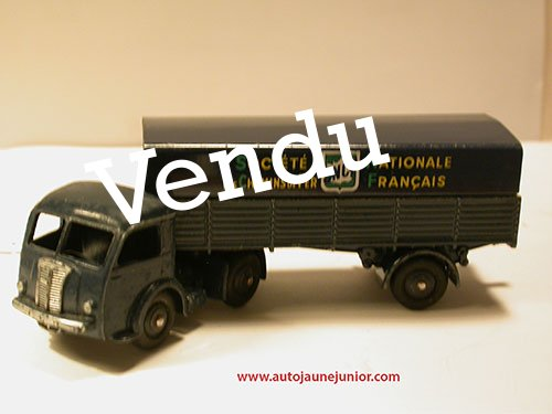 Dinky Toys France Movic semi remorque bâché SNCF