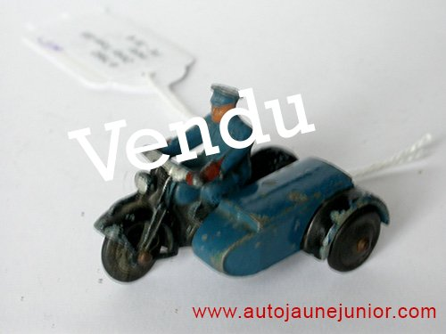 Dinky Toys GB side car RAC