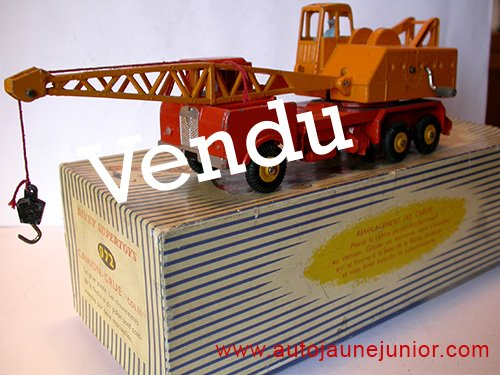 Dinky Toys France grue mobile 20 tonnes